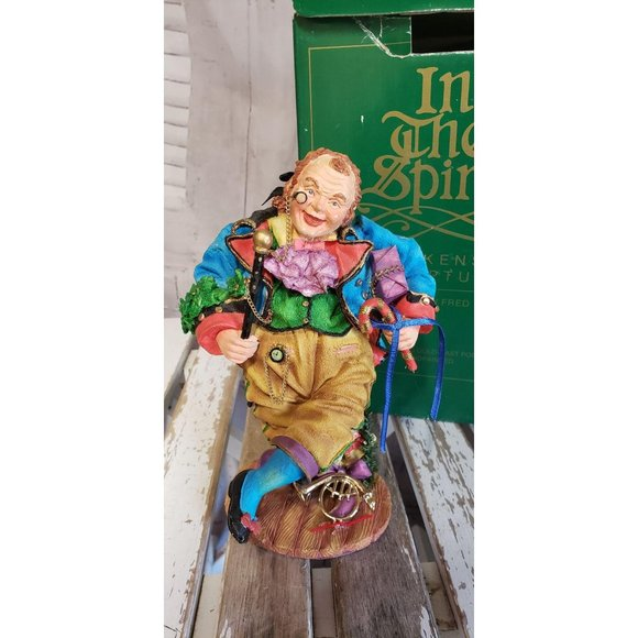 Dept 56 Dickens Sculpture In the Spirit Nephew Fre
